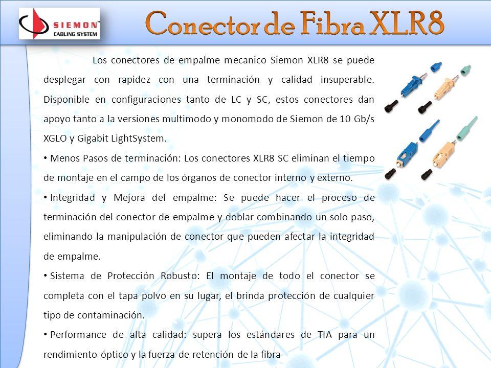 Conector de Fibra XLR8