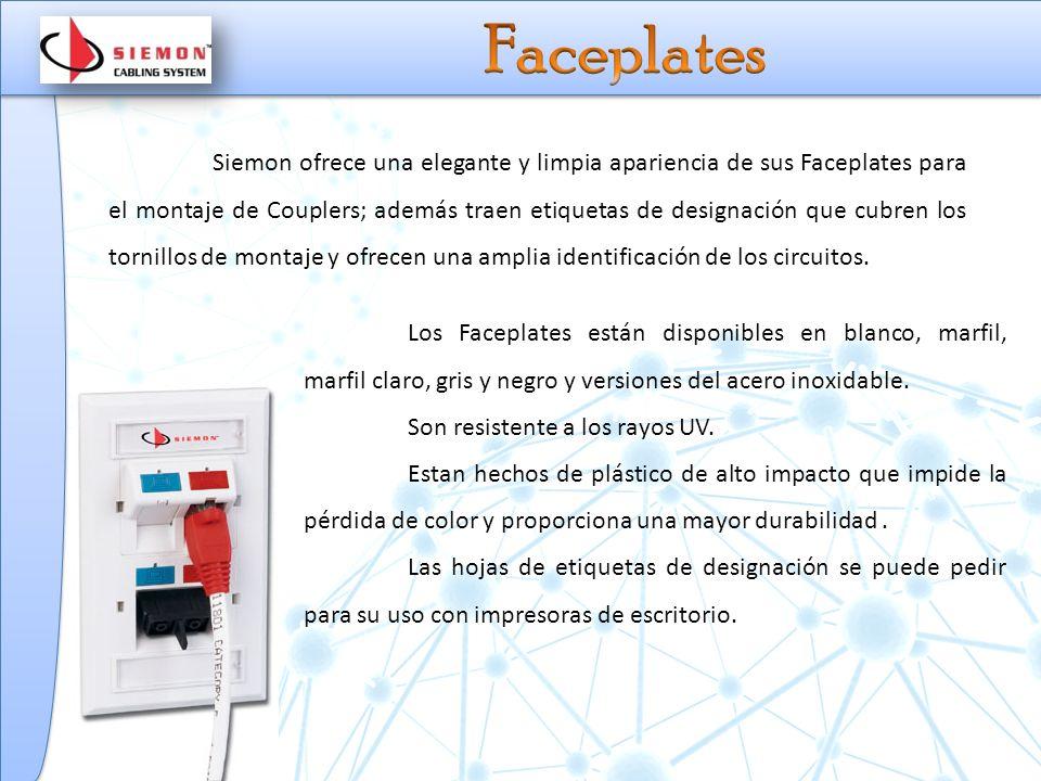 Faceplates