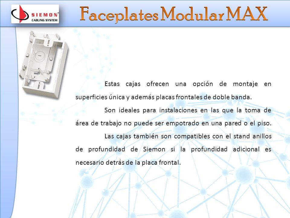 Faceplates Modular MAX
