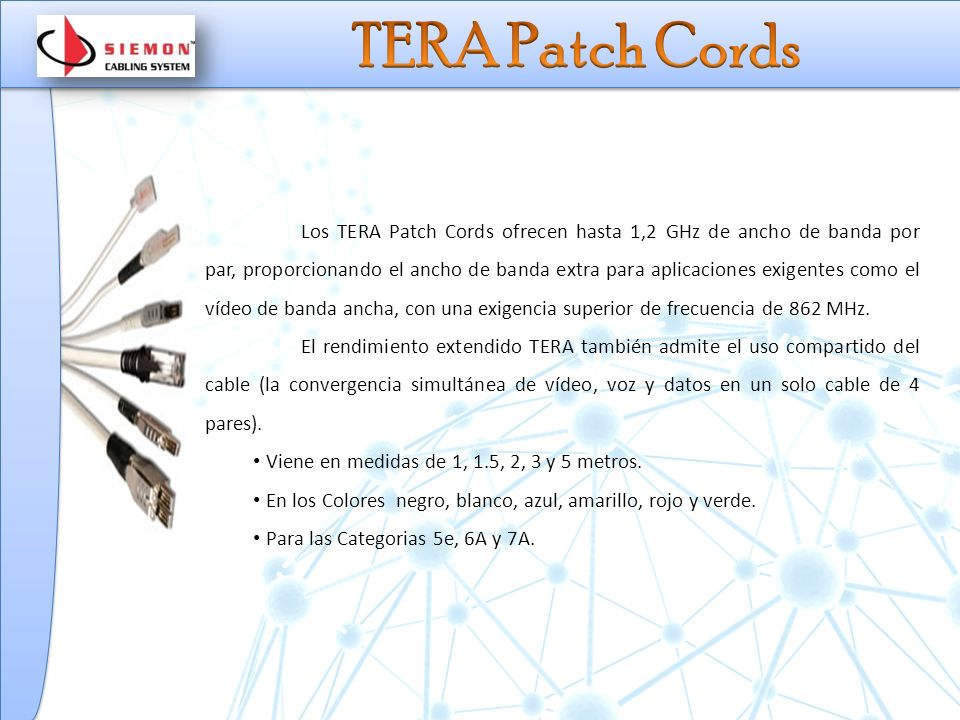 TERA Patch Cords