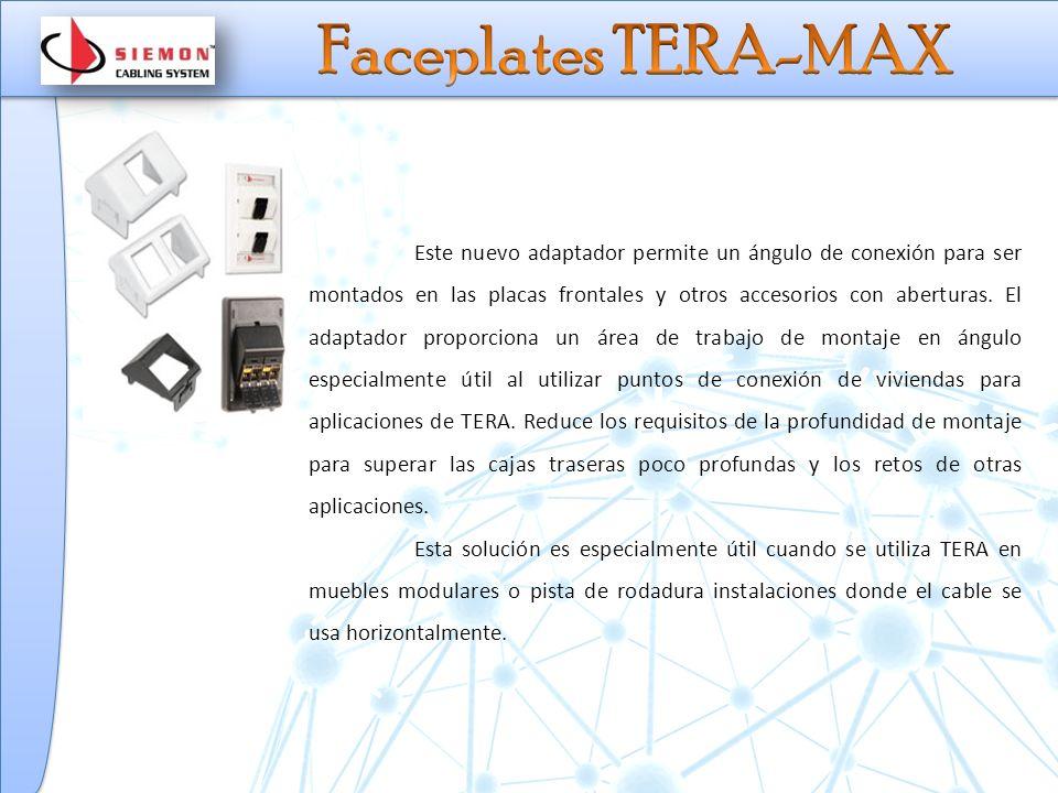 Faceplates TERA-MAX