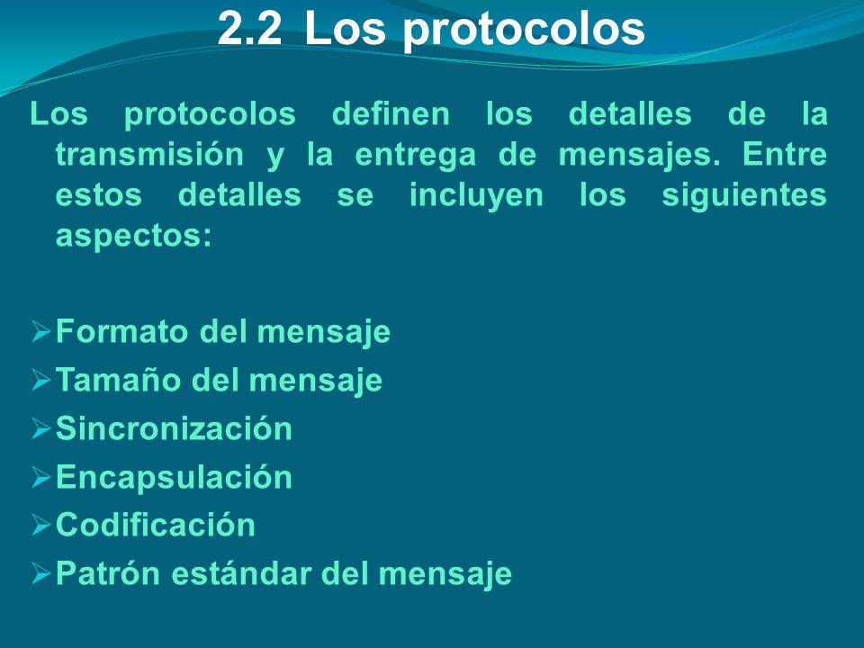 2.2 Los protocolos