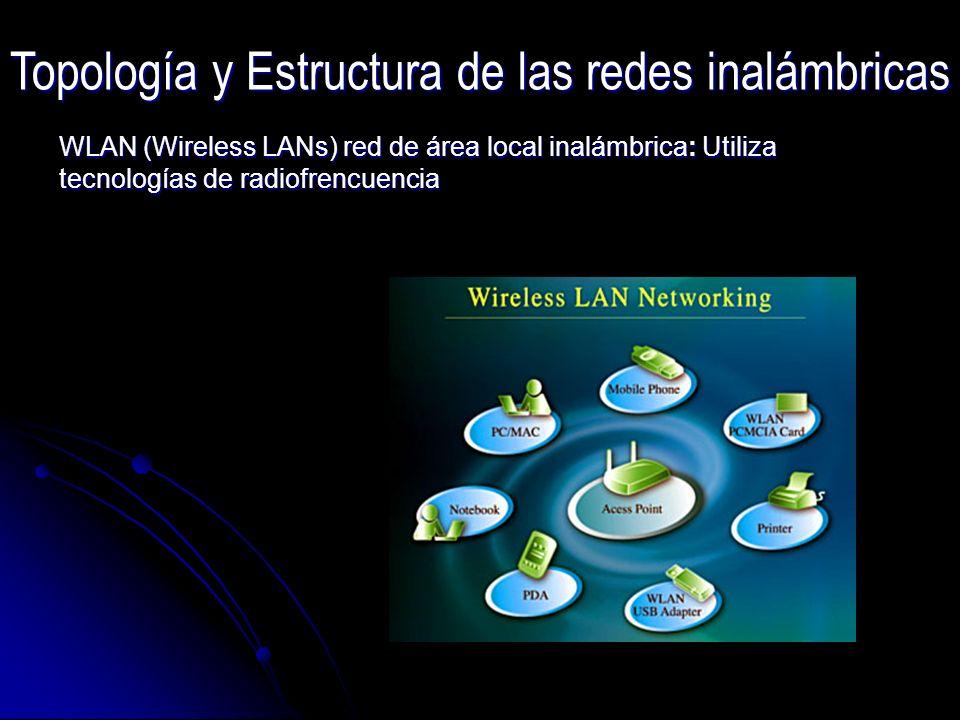 Topología y Estructura de las redes inalámbricas