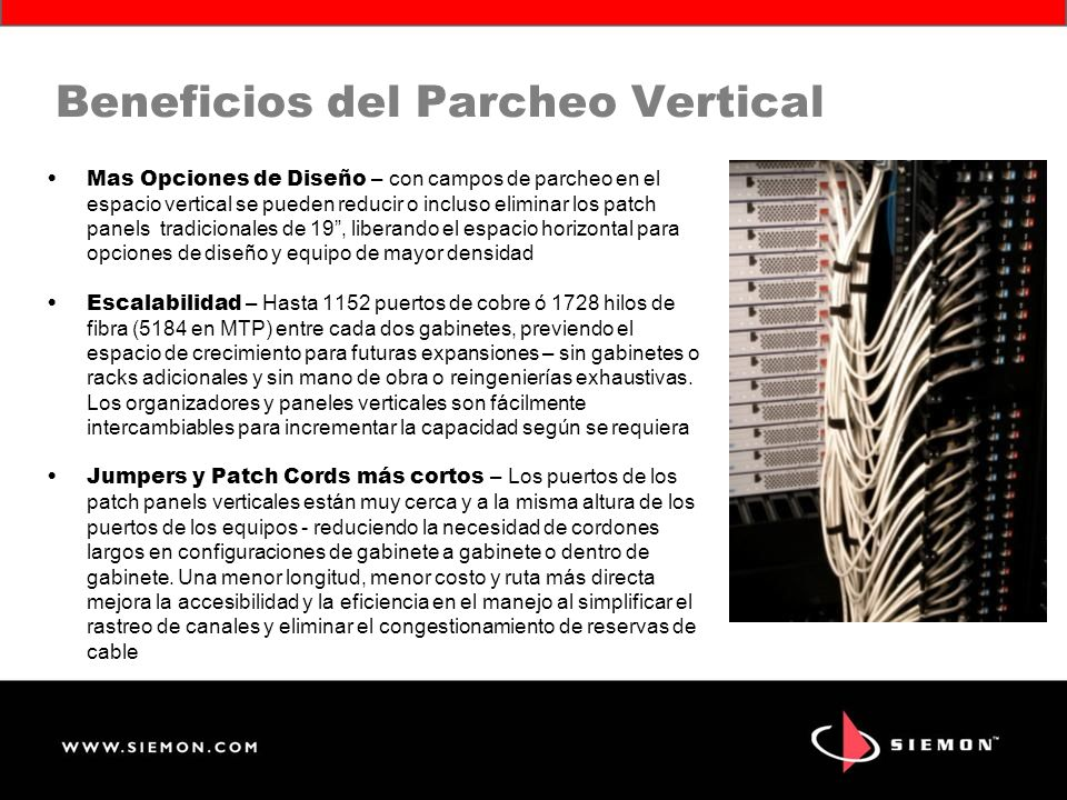Beneficios del Parcheo Vertical