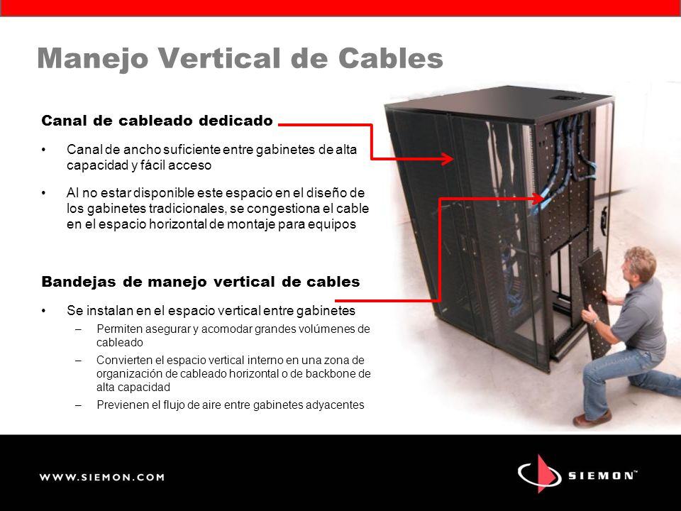 Manejo Vertical de Cables