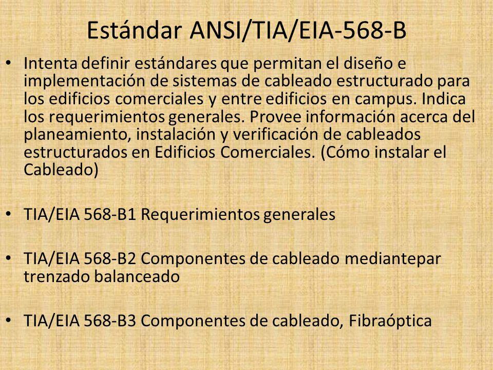 Estándar ANSI/TIA/EIA-568-B