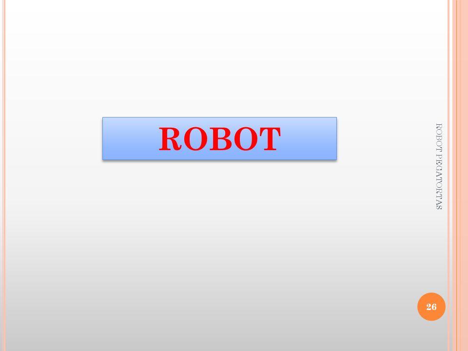 ROBOT ROBOT PEGATORTAS
