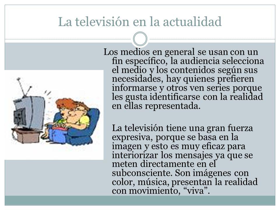 La televisión en la actualidad