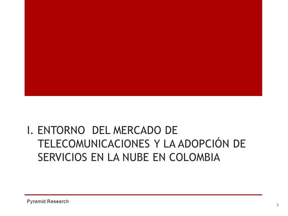 I. Entorno del mercado de telecomunicaciones y la adopciÓn de servicios en la nube en Colombia