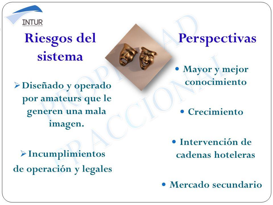 Riesgos del sistema Perspectivas
