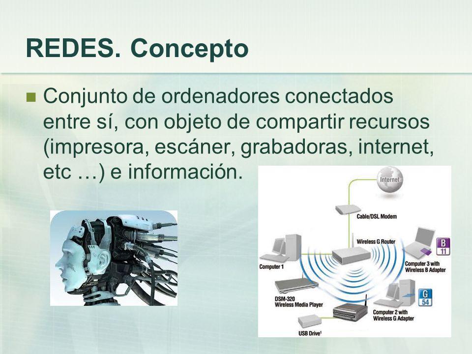 REDES. Concepto