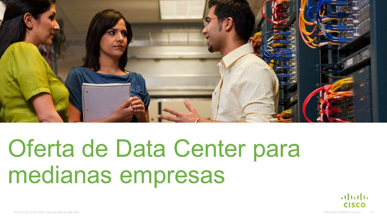 Oferta de Data Center para medianas empresas