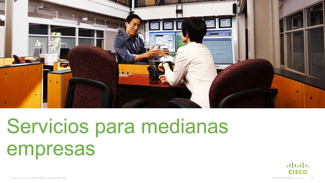 Servicios para medianas empresas