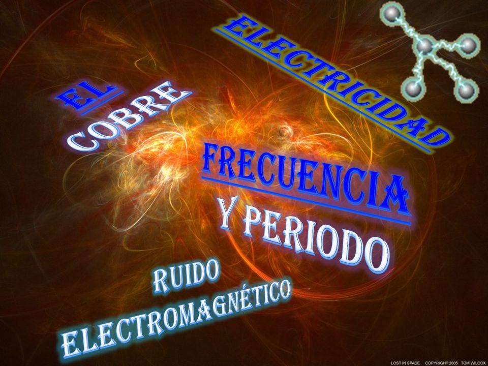 El cobre Frecuencia y periodo