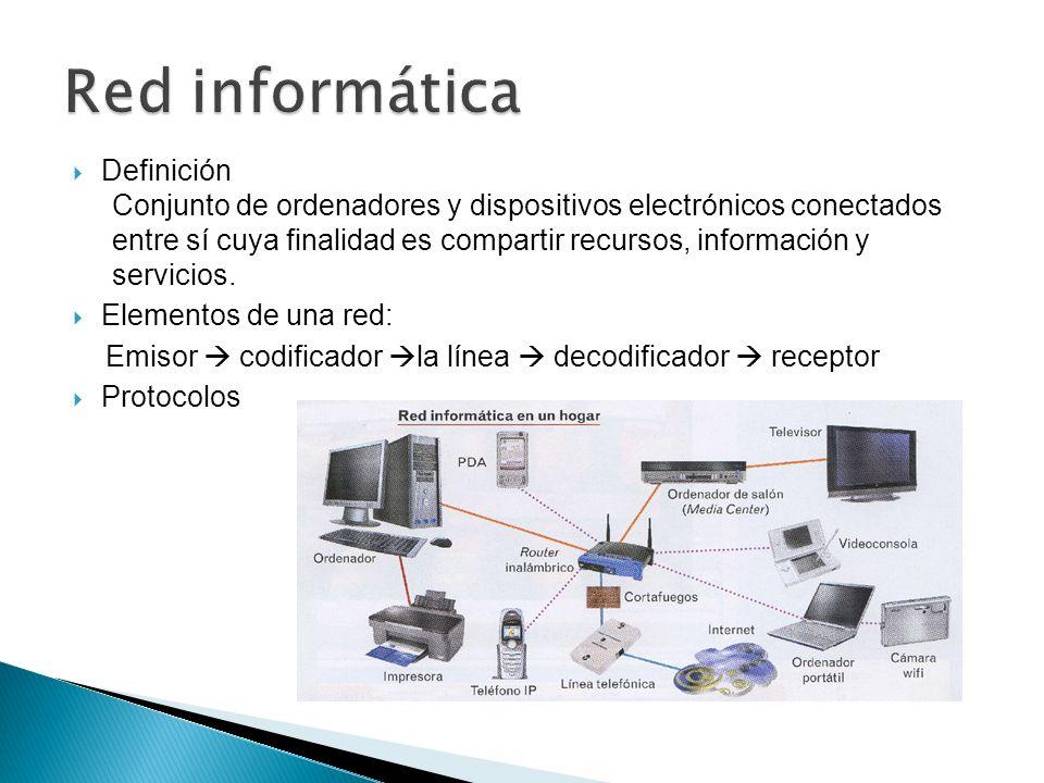 Red informática Definición