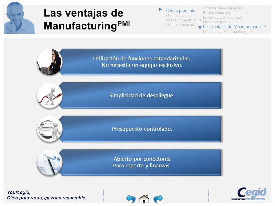 Las ventajas de ManufacturingPMI