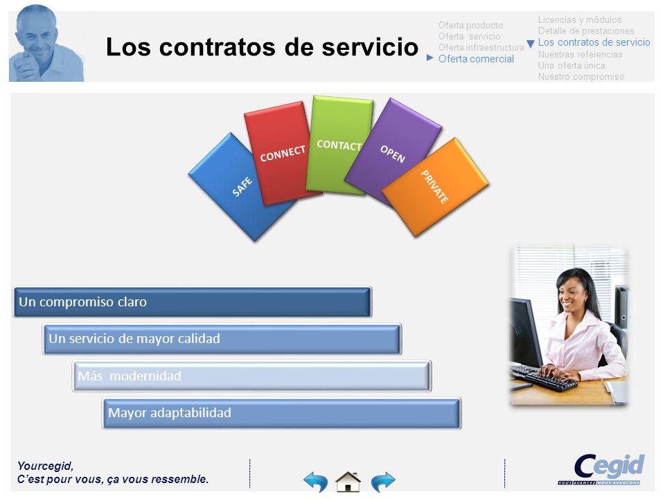 Los contratos de servicio