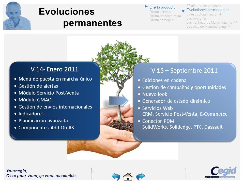 Evoluciones permanentes