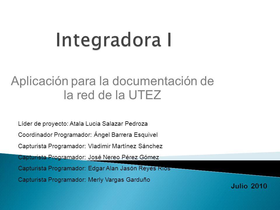 Aplicación para la documentación de la red de la UTEZ