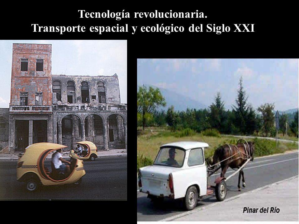 Tecnología revolucionaria.