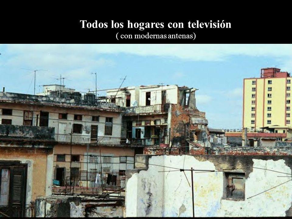 Todos los hogares con televisión