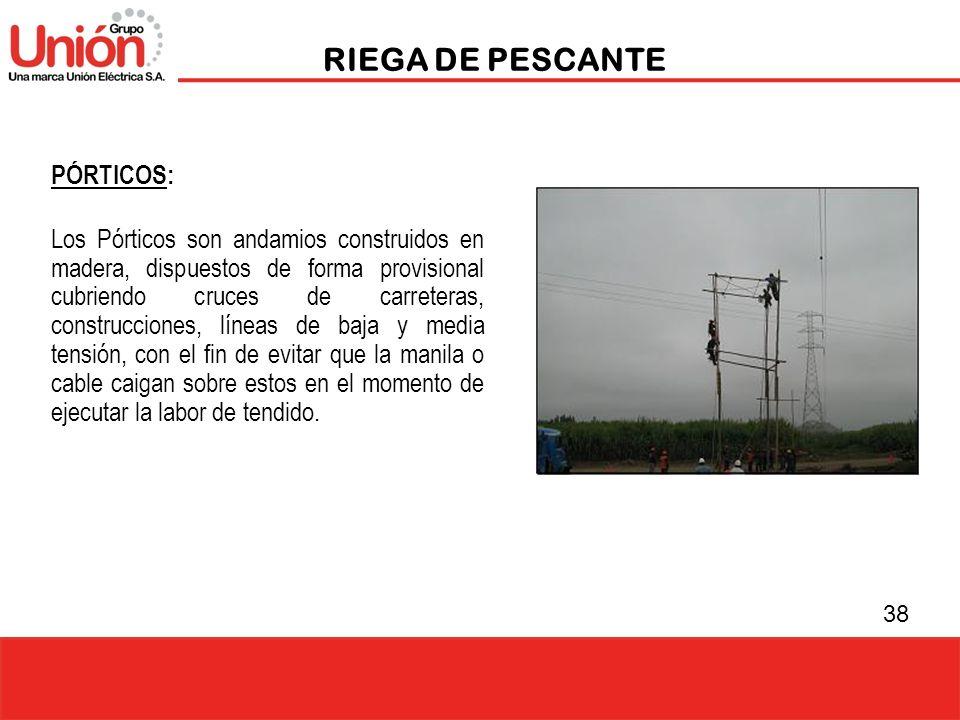 RIEGA DE PESCANTE