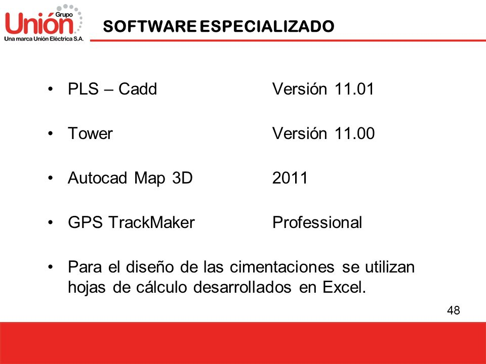 SOFTWARE ESPECIALIZADO