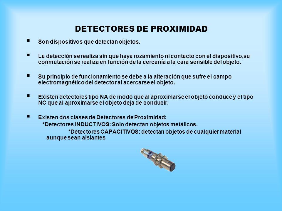 DETECTORES DE PROXIMIDAD