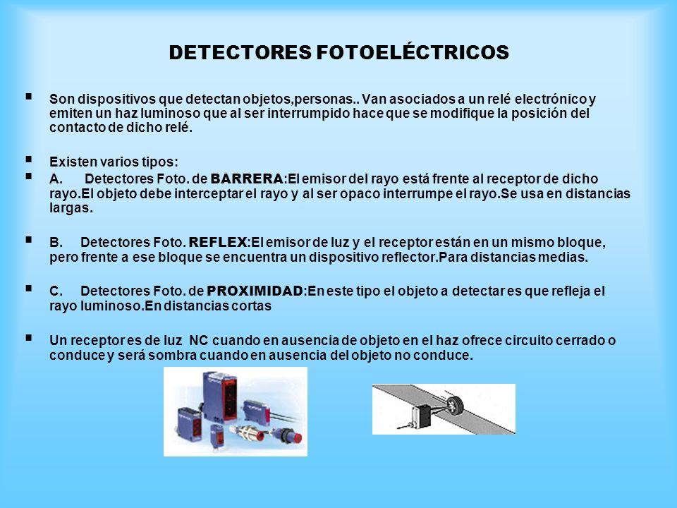 DETECTORES FOTOELÉCTRICOS