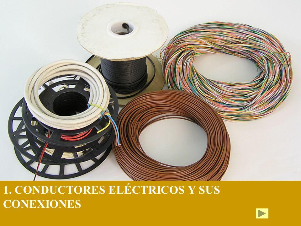 1. CONDUCTORES ELÉCTRICOS Y SUS CONEXIONES