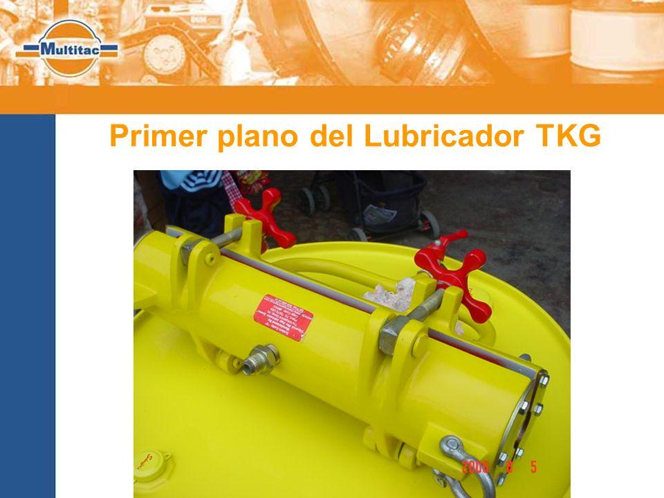 Primer plano del Lubricador TKG