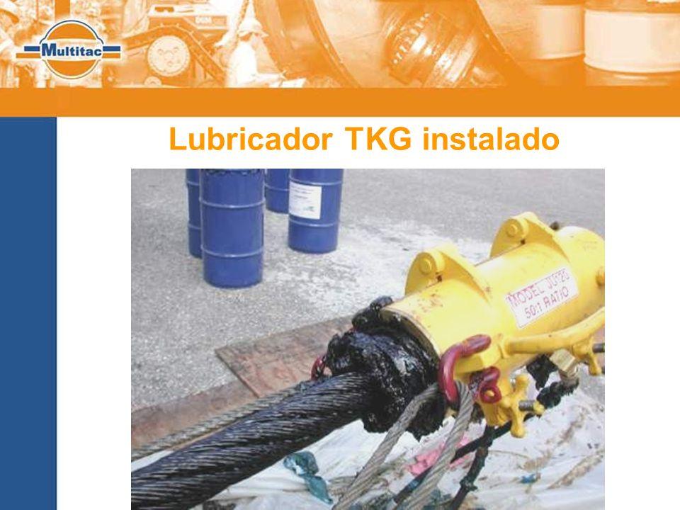 Lubricador TKG instalado