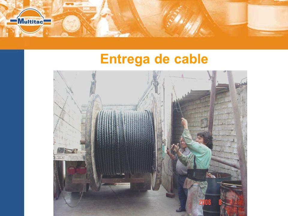 Entrega de cable