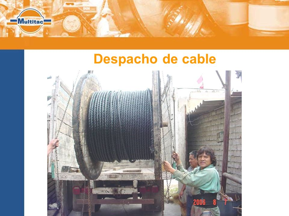 Despacho de cable