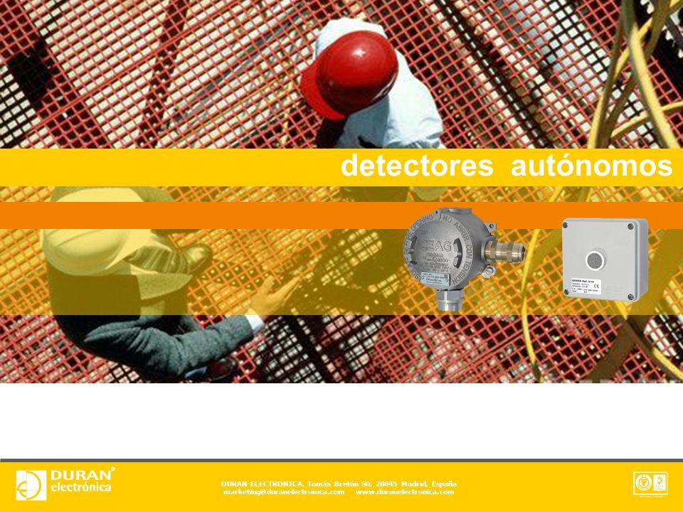 detectores autónomos