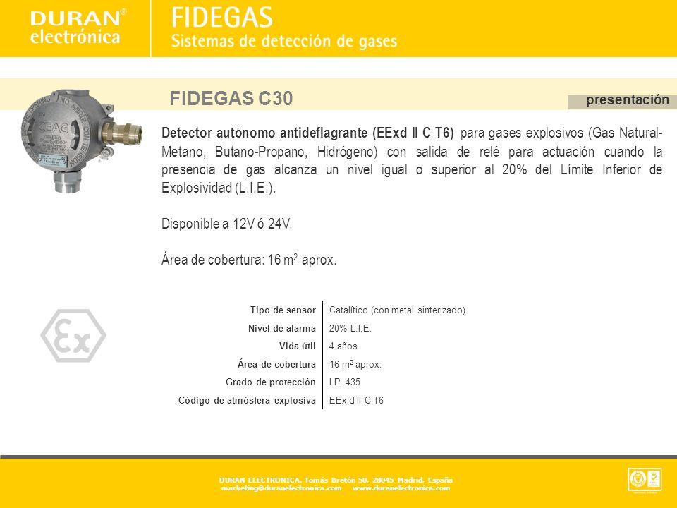 FIDEGAS C30 presentación.