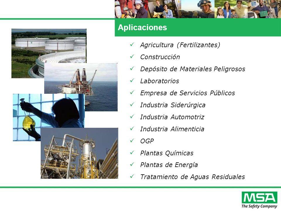Aplicaciones Agricultura (Fertilizantes) Construcción