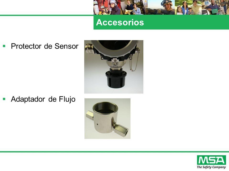 Accesorios Protector de Sensor Adaptador de Flujo