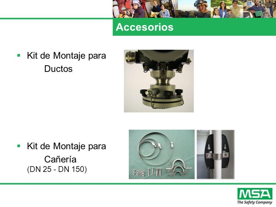 Accesorios Kit de Montaje para Ductos Cañería (DN 25 - DN 150)