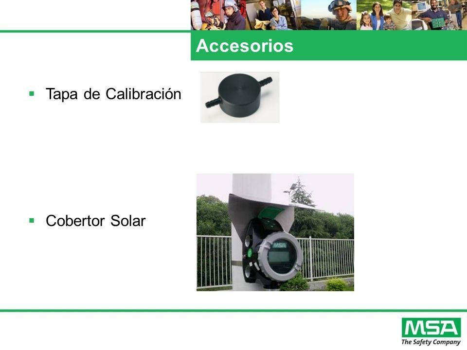 Accesorios Tapa de Calibración Cobertor Solar