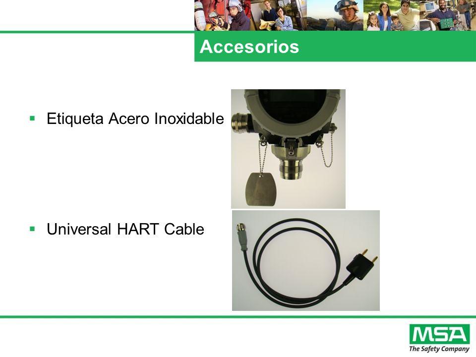 Accesorios Etiqueta Acero Inoxidable Universal HART Cable