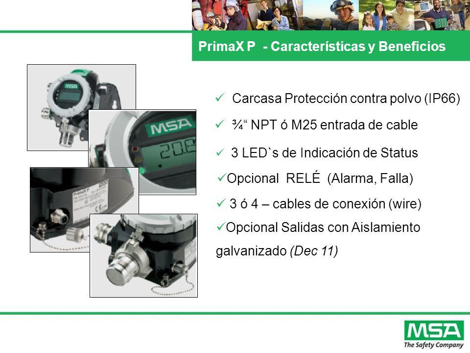 PrimaX P - Características y Beneficios