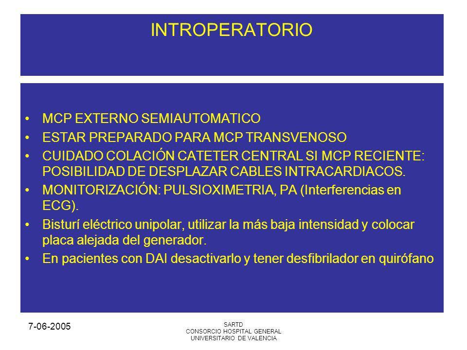 CONSORCIO HOSPITAL GENERAL UNIVERSITARIO DE VALENCIA