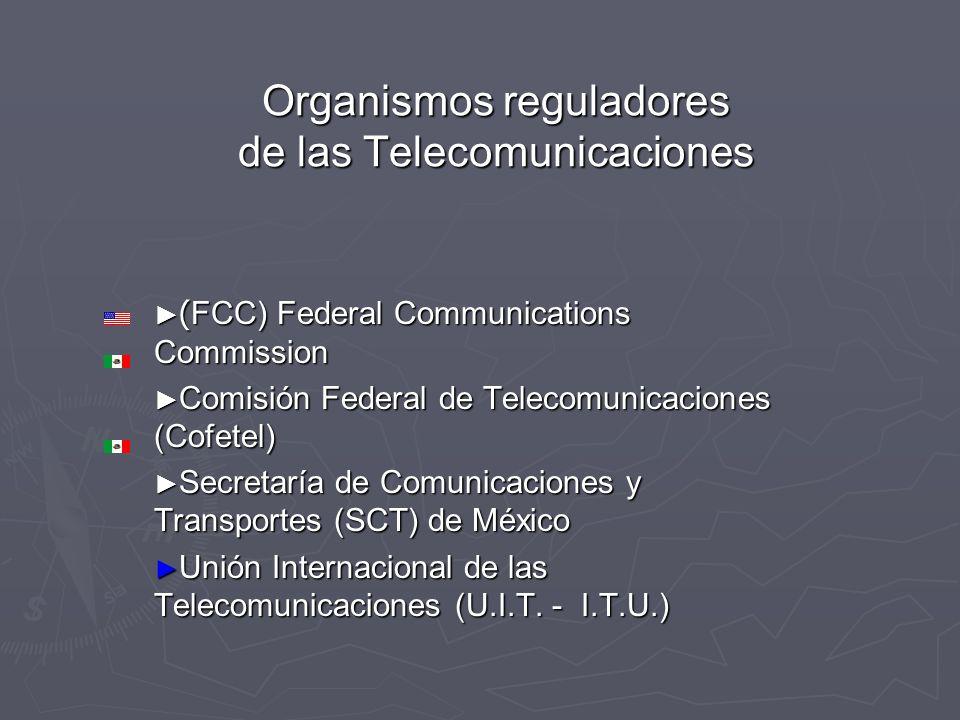 Organismos reguladores de las Telecomunicaciones