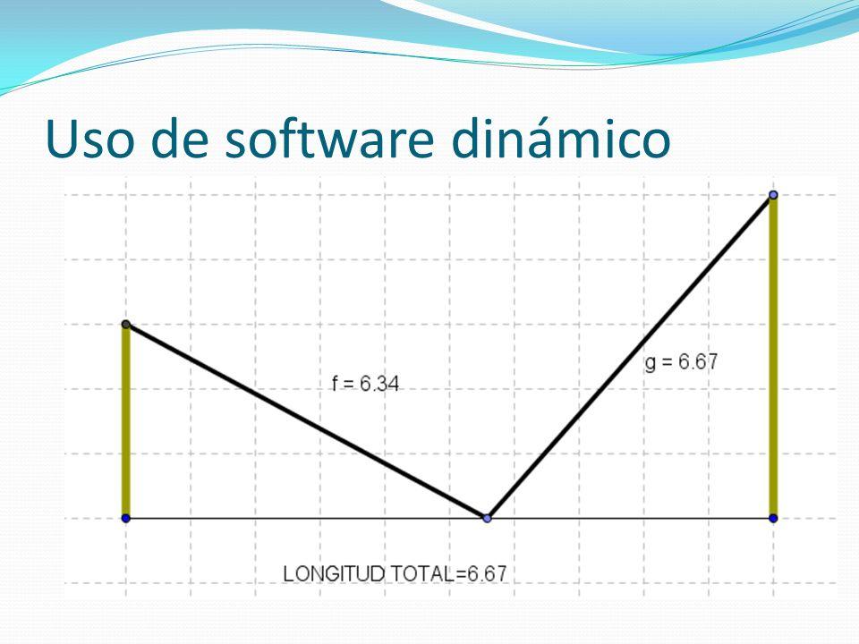 Uso de software dinámico