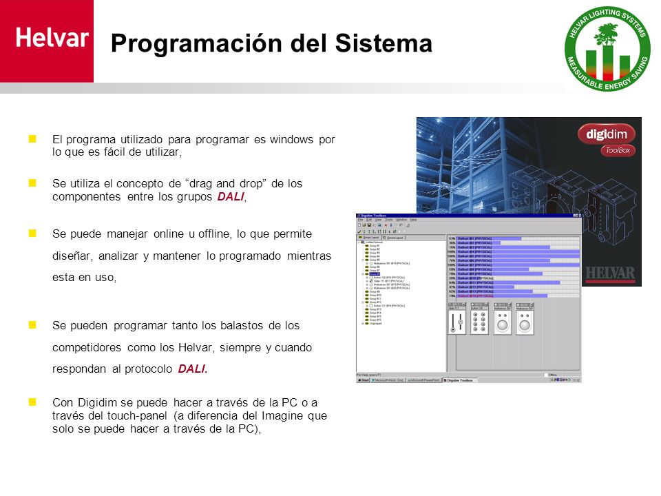 Programación del Sistema