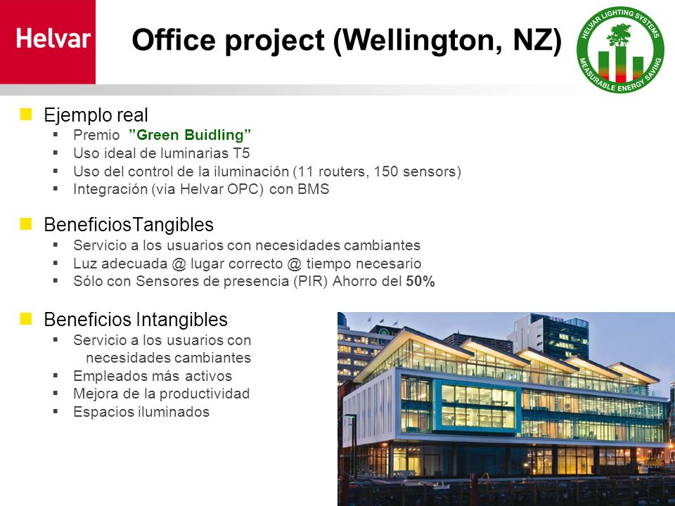 Office project (Wellington, NZ)