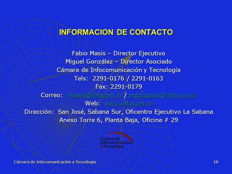 INFORMACION DE CONTACTO