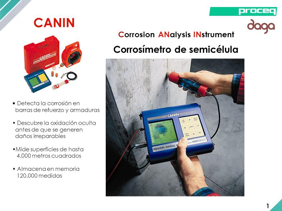 CANIN Corrosímetro de semicélula Corrosion ANalysis INstrument 1
