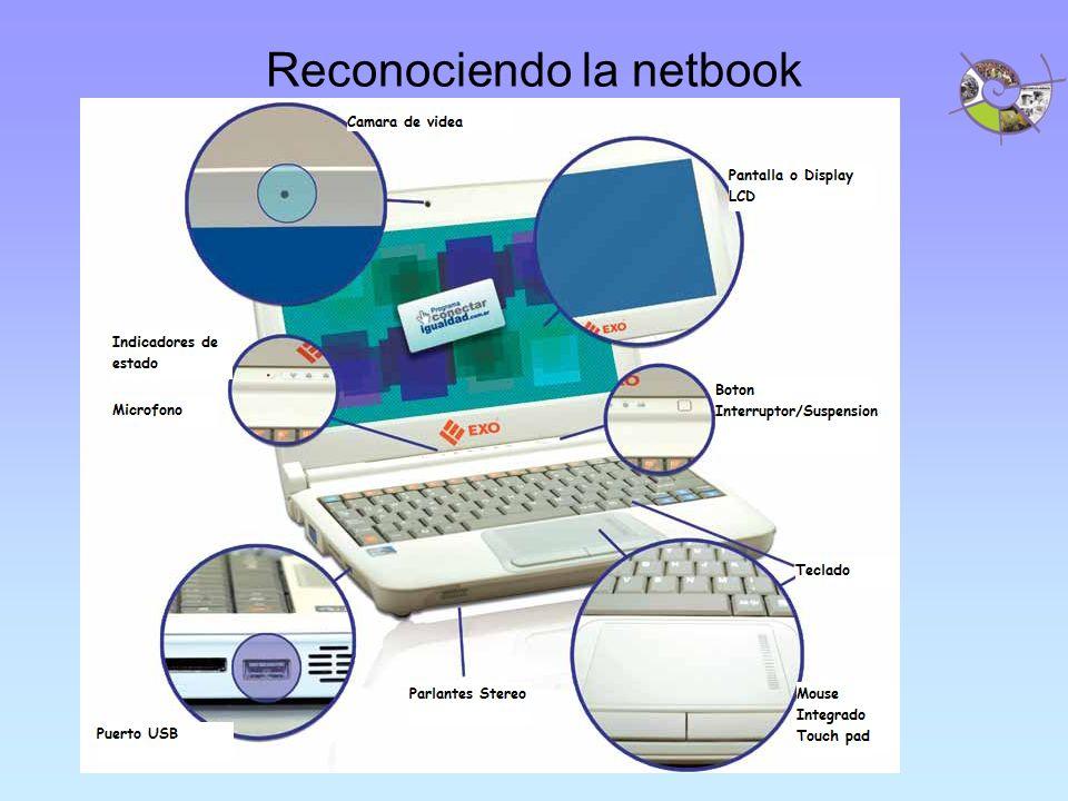 Reconociendo la netbook